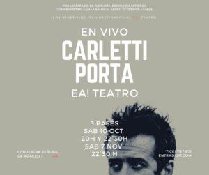Carletti Porta @ Ea! Teatro