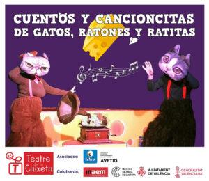 Cuentos y cancioncitas de gatos, ratones y ratitas @ Ea! Teatro