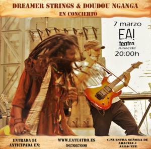 Dreamer Strings & Doudou Nganga @ Ea! Teatro