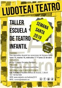 LUDOTEA! Escuela-Taller de Teatro Infantil de Ea! Teatro @ Ea! Teatro