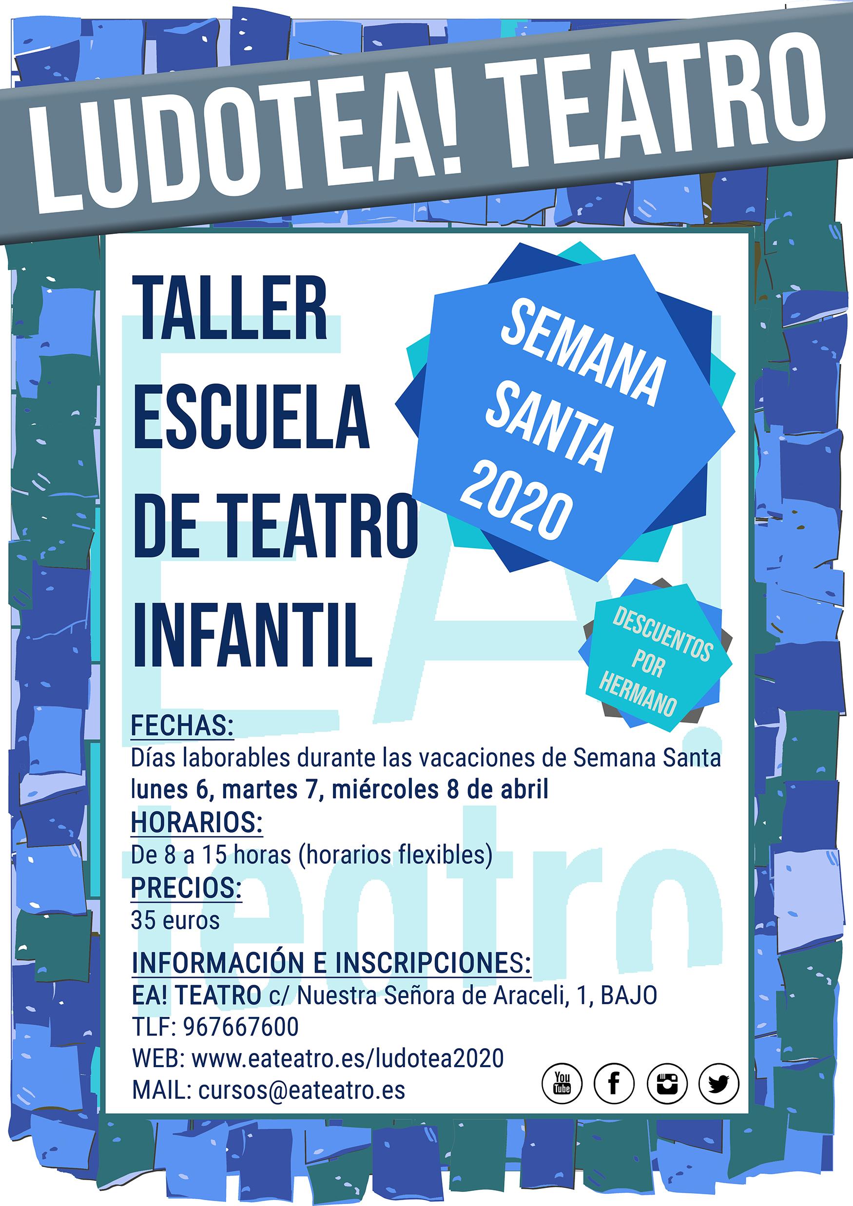 LUDOTEA! Escuela-Taller de Teatro Infantil de Ea! Teatro
