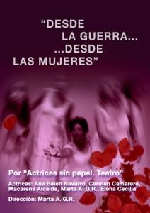 Desde la guerra, desde las mujeres @ Ea! Teatro