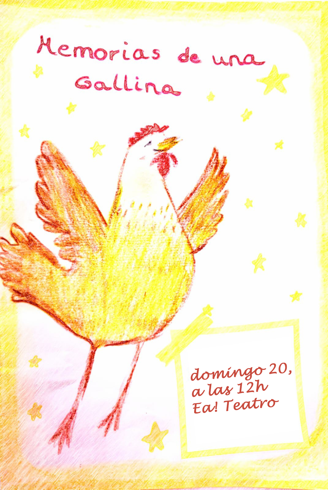 Memorias de una gallina