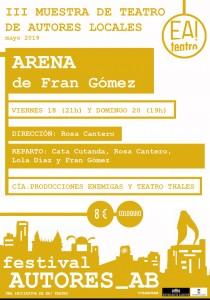 AUTORES_AB III: Arena @ Ea! Teatro