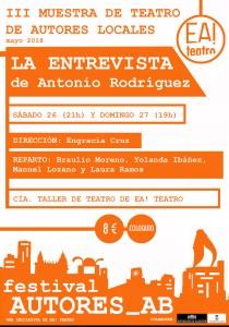 AUTORES_AB III: La Entrevista @ Ea! Teatro