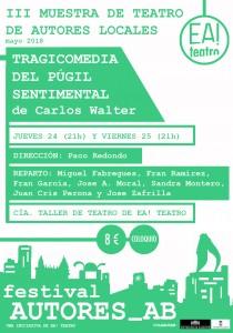 AUTORES_AB III: Tragicomedia del púgil sentimental @ Ea! Teatro