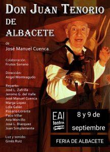 Don Juan Tenorio de Albacete @ EA! Teatro