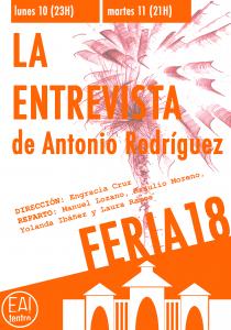 La Entrevista @ Ea! Teatro