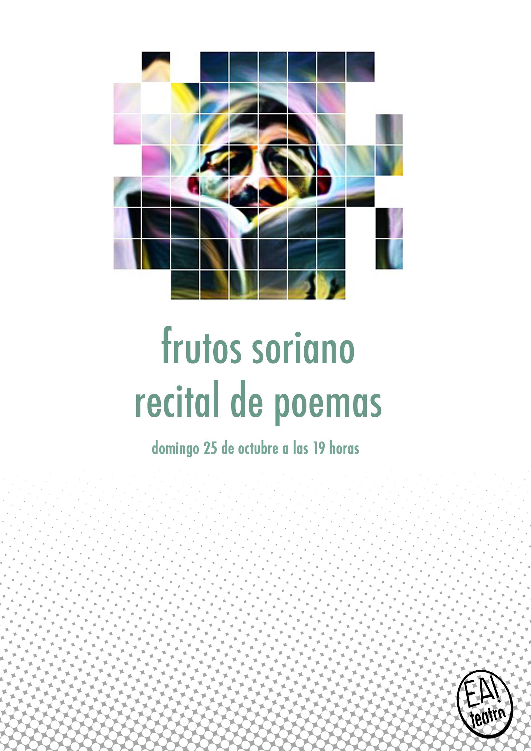 Frutos Soriano, recital de poemas