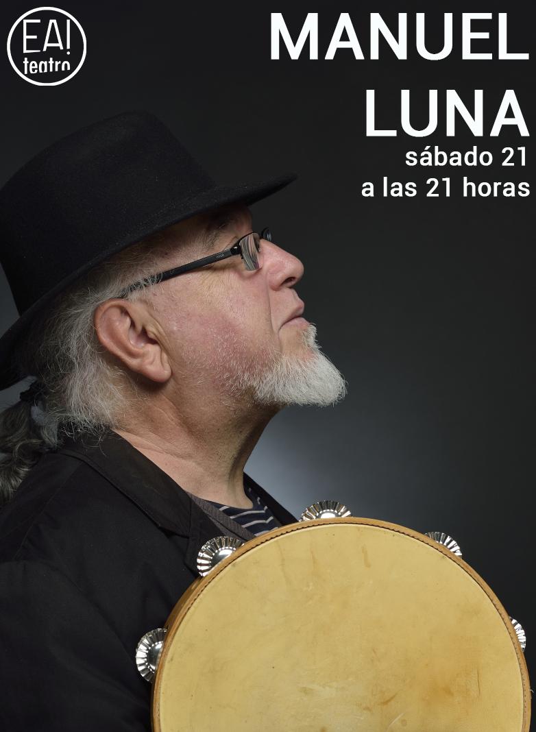 Manuel Luna en concierto