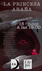 LA PRINCESA ARAÑA @ Ea! Teatro