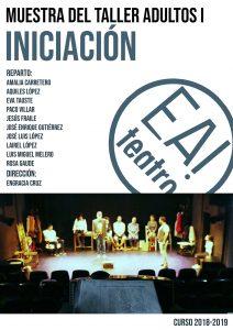 MUESTRA TALLER ADULTOS I: INICIACIÓN @ Ea! Teatro