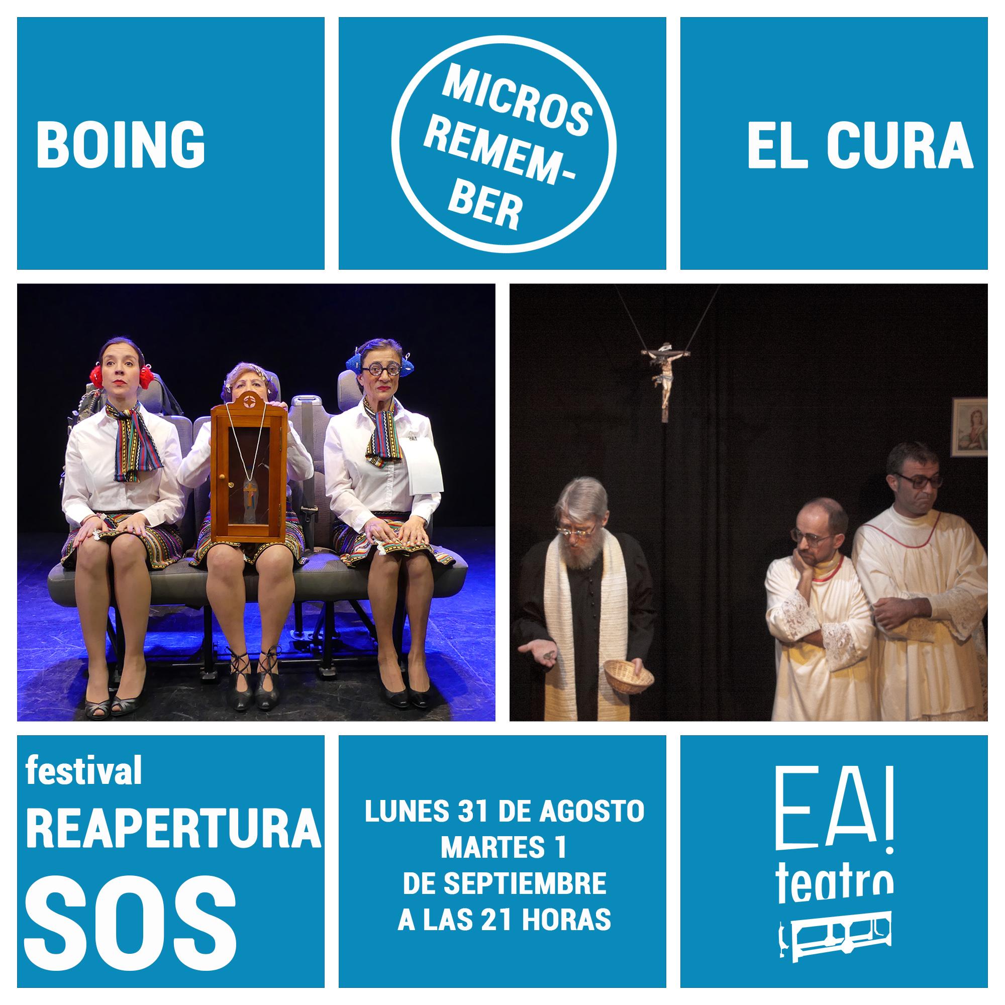 MICROS REMEMBER: «BOING» Y «EL CURA»