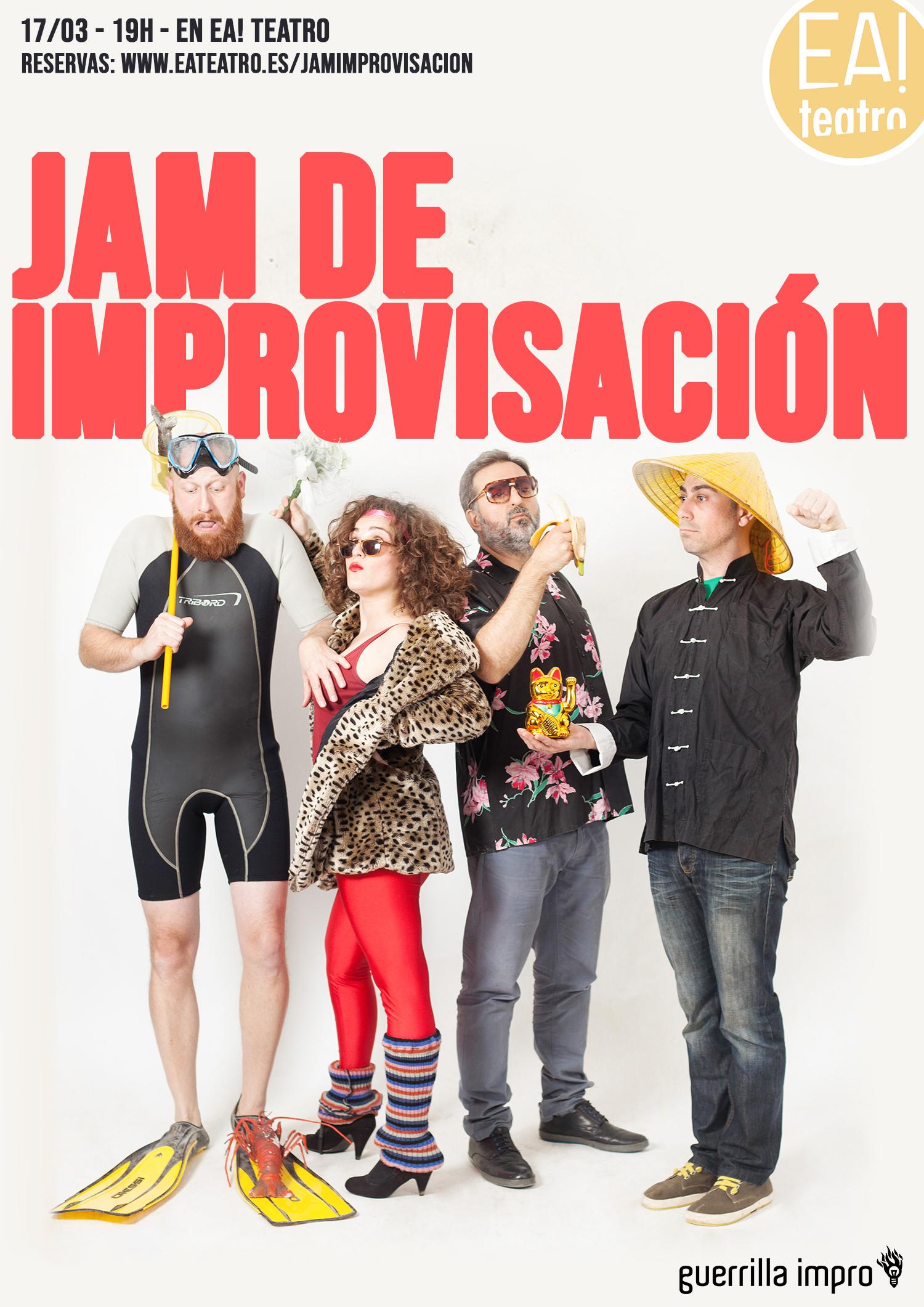 Jam de Improvisación