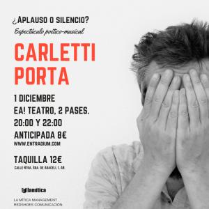 Carletti Porta - ¿Aplauso o silencio? - @ Ea! Teatro