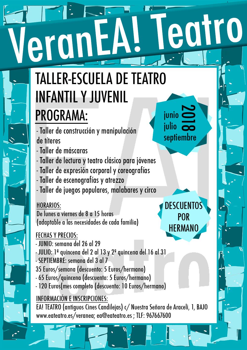 VeranEa! Teatro 2018