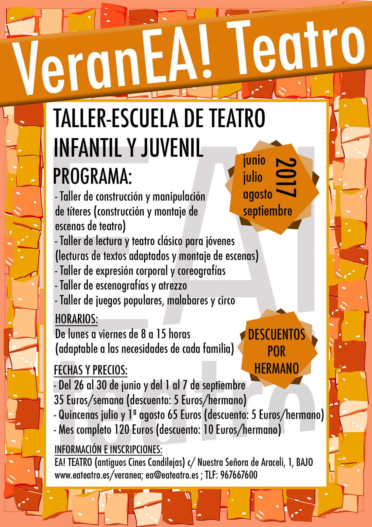 VeranEa! Teatro 2017