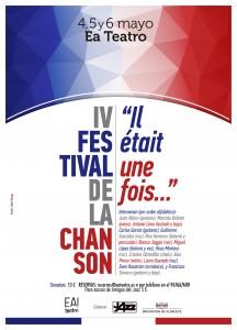 """IV Festival de la Chanson: """"Il était une fois..."""" @ Ea! Teatro"""