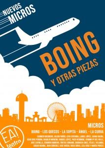 Boing y otras piezas (nuevos microteatros) @ EA! Teatro