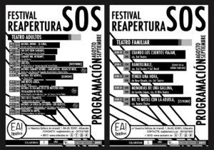 FESTIVAL SOS REAPERTURA @ Ea! TEATRO